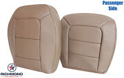 2001-2002 Ford Explorer Sport Trac - Passenger Complete Leather Seat Covers Tan