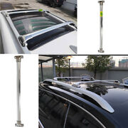 For 2015 2016-2020 Jeep Renegade Aluminum Silver Top Roof Cargo Rack Cross Bars