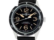Bell And Ross Vintage Br123 Sports Heritage Br123-92-sp Ss Auto Men's Watche8770