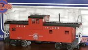 ✅atlas O 3-rail Rock Island Lighted Extended Vision Caboose For Diesel Engine