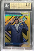 2018-19 Panini Prizm Mo Bamba Luck Of The Lottery Gold Rookie 6/10 6 Rc Bgs 9.5