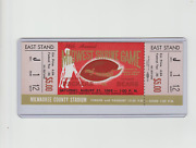 1965 Midwest Shrine Packers Bears Full Ticket Gayle Sayers First Game And Program