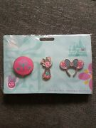 Disney Store Minnie Mouse Main Attraction Itand039s A Small World Pin Set April 4/12
