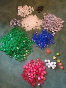1320+ Plastic Bottle Caps Soda And Water Arts And Crafts Supplies Codes Lot Pop