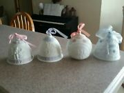 Lladro Christmas Bells And Ornament 1987 1993 1996 2004