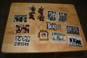 The Beatles Figurines And Cards And Christmas Ornament