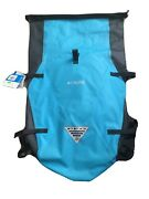 Columbia Pfg Perfect Cast Waterproof Roll Top Fly Fishing Daypack Backpack New
