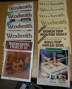 10-woodsmith Magazine And Woodworking Project Textbook