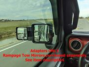 Jeep Jt/gladiator And Jl/wrangler Rampage Tow Mirror Adapters