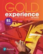 Gold Experience 2nd Edition B1 Studentand039s Book By Warwick Boyd Walsh New-