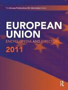 European Union Encyclopedia And Directory 2011, Publications 9781857435702