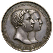 Great Britain Albert Edward And Alexandra Marriage 10 March 1863 Silver Medal