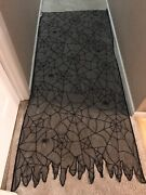 Yankee Candle Boney Bunch 8pc Spider Web Doilies Table Runners New Rare Set