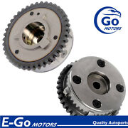Pair Exhaust Intake Vvt Timing Gear For Jaguar 204pt E-pace F-pace Xf 2.0l