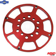 Msd Replacement Wheel Flying Magnet Crank Trigger Fits 1955-2002 Chevy - Red
