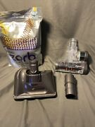 Dyson Zorb Carpet Powder Spot Cleaner And Brush Attachment And Mini Turbo Brush