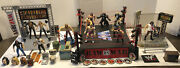 Huge Wwe Wwf Raw Wrestling Ring And Various Steel Cage / Ring Acc + Rock And More