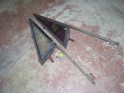 1970 Chevy Truck C-10 Vent Glass And Frame - Pair