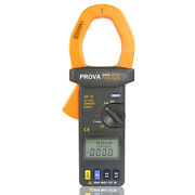 Prova-6600 Ac/dc True Power And True Rms Ac Voltage Current Clamp Meter
