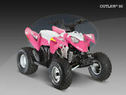 Oem New Polaris Outlaw 90 Front Fender Pink