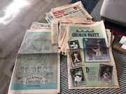 Vintage Newspapers Of Kc Royals 1977-1992 Including World Series 1985 Lot Of 20