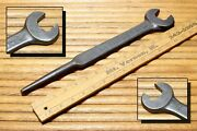 Antique Armstrong Bros Spud Wrench 3/4 Straight Open End 228 Triangle A Logo