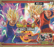 Dragonball Super World Martial Arts Tournament Themed Booster Box
