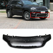 Abs Black Front Bumper Lip Surround Cover 1pcs For Jeep Grand Cherokee 2014-2020