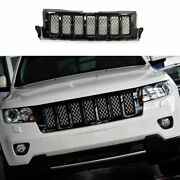 For 2012 2011-2013 Jeep Grand Cherokee Black Front Bumper Center Hood Grill Mesh
