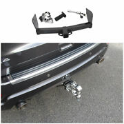 Black Rear Bumper Trailer Tow Hitch Hook Fit For Jeep Grand Cherokee 2011-2020