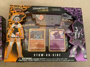 Pokandeacutemon Pok82741 Championand039s Path Special Pin Collection-stow-on-side - 4 Boxes