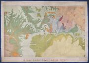 Colorado, New Mexico, Arizona, And Utah Antique Geological Map By F.v. Hayden