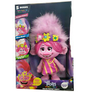🎄trolls World Tour Color Poppin Poppy🎄toy