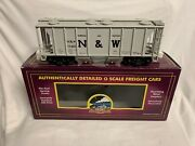 ✅mth Premier Norfolk And Western Ps-2 Covered Hopper Car 20-97187 O Scale Nandw