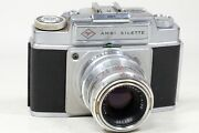 Agfa Ambi-silette With 90mm F4 Color Telinear Lens