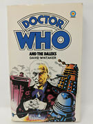 Doctor Who And The Daleks Target Paperback Signed By Terry Nation Vintage