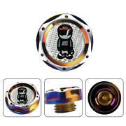 Jdm Neo Engine Oil Cap With Real Silver Mugen Racer Carbon Sticker For Honda