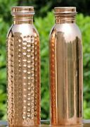 Copper Water Bottle Leak Proof Cap And Heath Benefits Joint Free Ayurveda