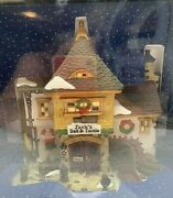 Holiday Time Village Collectible Jacks Bait And Tackle House Christmas Lighted New