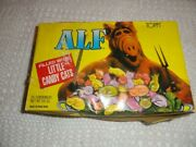 Andnbspalf Memporbilia Rare Topps 1987 Alf Containers Filled With Candy Catsandnbsp