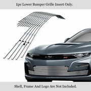 Fits 2019-2021 Chevy Camaro 1ss/2ss Bumper Stainless Chrome Billet Grille Insert
