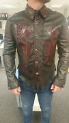 Leather Jacket Hand Made By Legendary Los Angeles Designer Steelo Never Worn