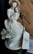 Guiseppe Armani My Little Flower Mother W/baby 1590f Florence Porcelain...