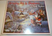 White Mountain Bringing Joy And Happiness By Nicky Boehme Jigsaw Puzzle Christmas