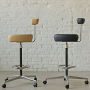 Classic Mcm Herman Miller Perch Stool By George Nelson And Robert Propst