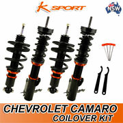 K-sport Coilovers Fully Adjustable Coilover Suspension Kit Fit Chevrolet Camaro