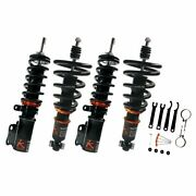 K-sport Fit Ford Mustang Coilover Set 15-up Rear Shock / Spring Separate