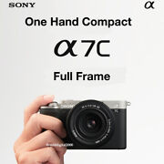 Sony A7cilce-7c Only Body -black- 4k Recording 5- Axis I.s Full Frame 13 Lang