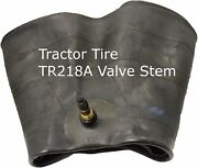 2 New Radial Inner Tube 16.9 28 18.4 28 Tr218a Tractor Tire Stem 16.9r28 18.4r28
