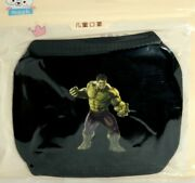 Kids Marvel Incredible Hulk 2 Cotton Washable Cartoon Face Mask Ages 5 And Under